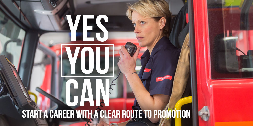 Avon Fire & Rescue Services launches Yes You Can recruitment campaign
