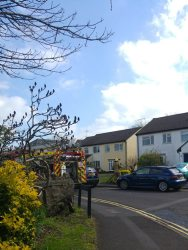 Crews tackle Nailsea roof fire