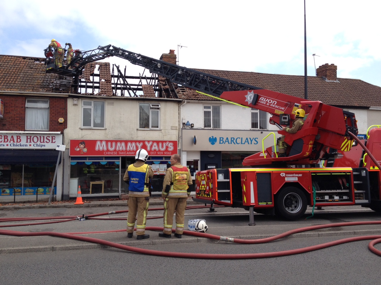 Fire crews called to Patchway fire