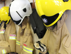 Firefighters rescue man from lift shaft