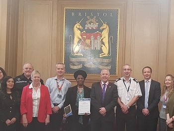 Bristol scoops equality and diversity award