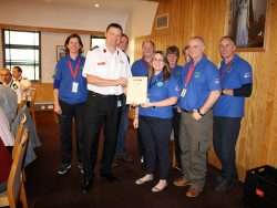 Volunteers receive Chief Fire Officer's commendation