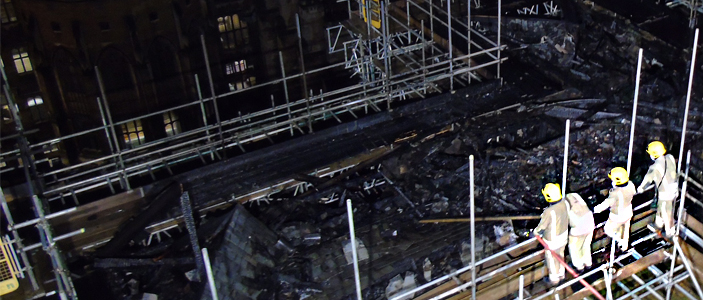 Bristol University fire investigation concluded