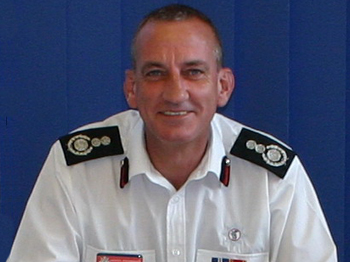Chief Fire Officer Kevin Pearson passes away