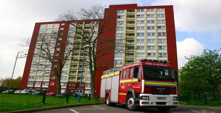 Reassurance given following London fire incident