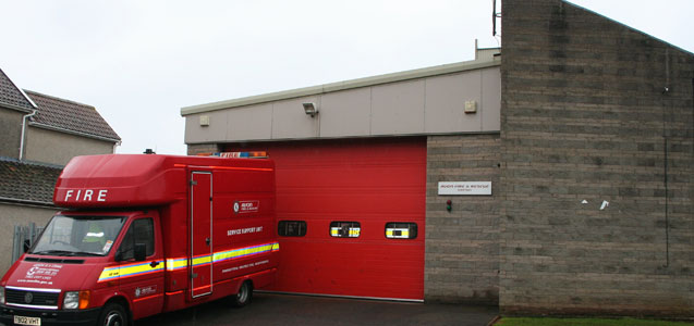 Yatton Fire station
